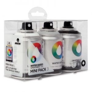 MTN Water Based Mini Pack 3 Grey