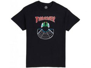 Thrasher Doubles T-Shirt Black