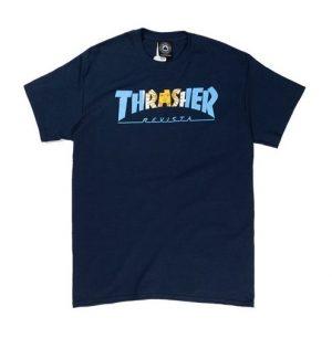 Thrasher Argentina T-Shirt Navy