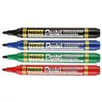 Pentel Permanent Marker N850 Set