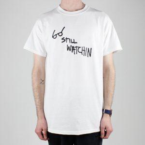 Thrasher Still Watchin T-Shirt White