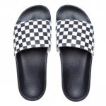 Vans MN Slide-(Checkerboard) - Black/White