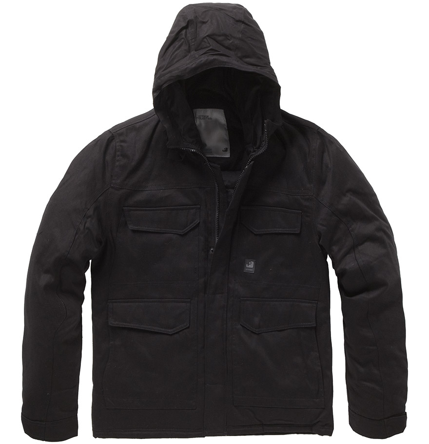 Douglas Parka Black Vintage Industries