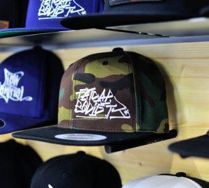 Yupoong Classic Snapback Camo/Black Fatcap Society