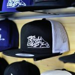 Yupoong Classic Trucker Black/White Fatcap Society