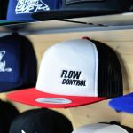 Foam Trucker White Front Red/White/Black Flow Control