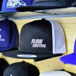 Yupoong Classic Trucker Black/White Flow Control