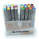 MTN 94 Graphic Marker 24 Pack Pastel