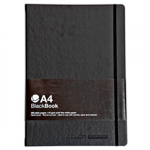 MTN A4 BlackBook Vertical