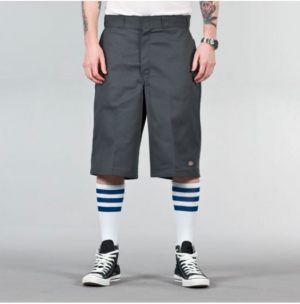 13 Inch Multi-Use Pocket Work Shorts Charcoal
