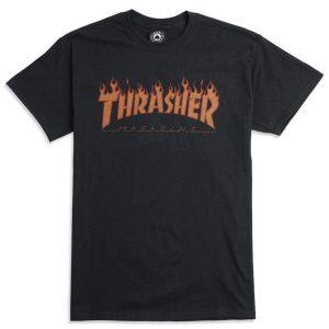 Thrasher Flame Halftone T-Shirt