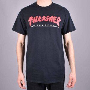 Thrasher Godzilla T-Shirt Black